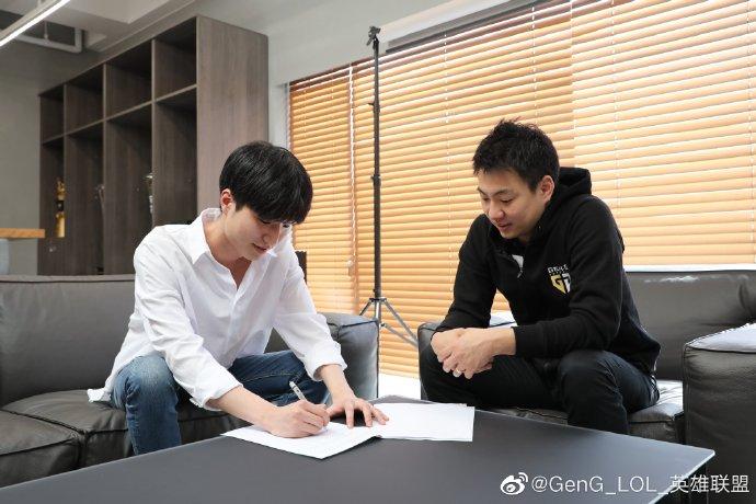 GEN战队官宣:中单选手Kuzan正式加入